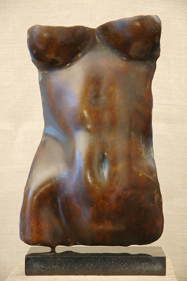 Torsolino: Brown Patina Finish - Bronze Sculpture - by Gerald Siciliano