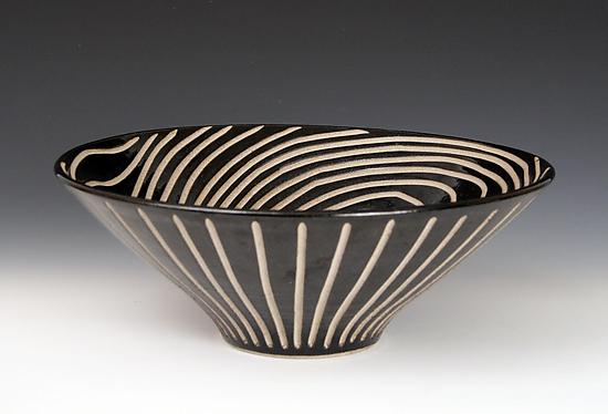Wedge Bowl - Ceramic Bowl - by Larry Halvorsen