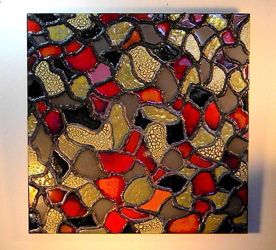 Mosaic III - Ceramic Wall Art - by Gail McCarthy