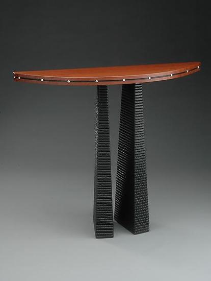 Manta - Wood Console Table - by David Kiernan