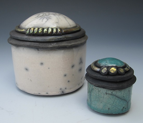 Cajitas - Ceramic Box - by Candone Wharton