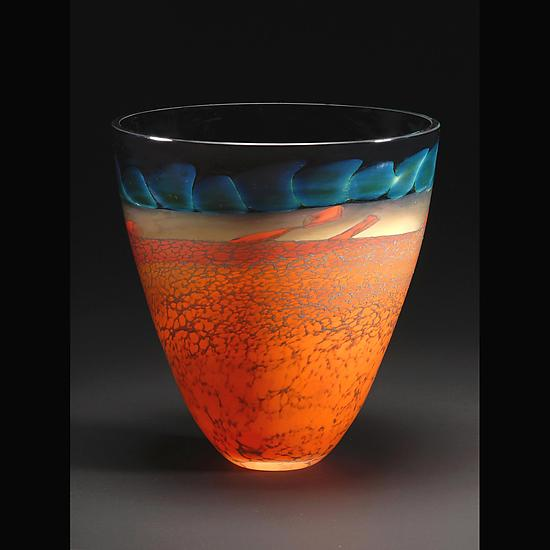 Desert Series Bowl - Art Glass Bowl - by Steven Main