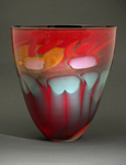 Art Glass Bowl by Steven Main
