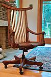 Wood Chair by Richard Laufer