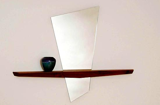Alice's Looking Glass II - Wood Mirrors - by John McDermott