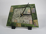 Ceramic Tiled Clock by Eileen Young