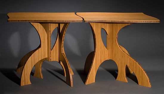 Banyan Side Table - Wood Side Table - by Seth Rolland