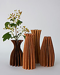 Wood Vase by Seth Rolland