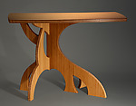 Wood Console Table by Seth Rolland