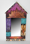 Wood Mirror by Wendy Grossman