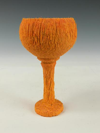 Palm Wood Goblet - Wood Goblet - by Dewey Garrett