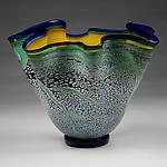 Art Glass Bowl by Eric Bladholm