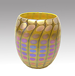 Art Glass Bowl by Thomas Philabaum