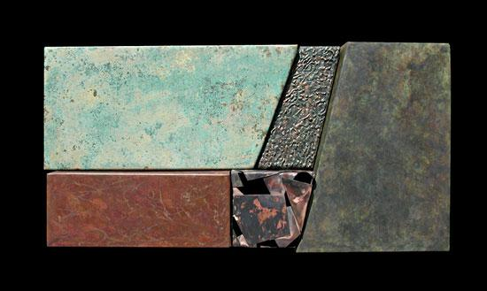 Wallpiece 04.31 - Metal Wall Art - by David M Bowman and Reed C Bowman