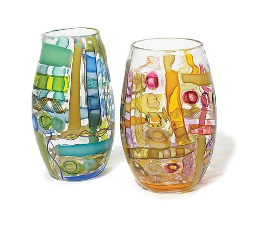 Waterman Vases By Tracy Glover Art Glass Vase Artful Home