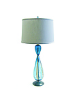 Art Glass Table Lamp by Tracy Glover