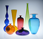Art Glass Vessels by Nicholas Kekic