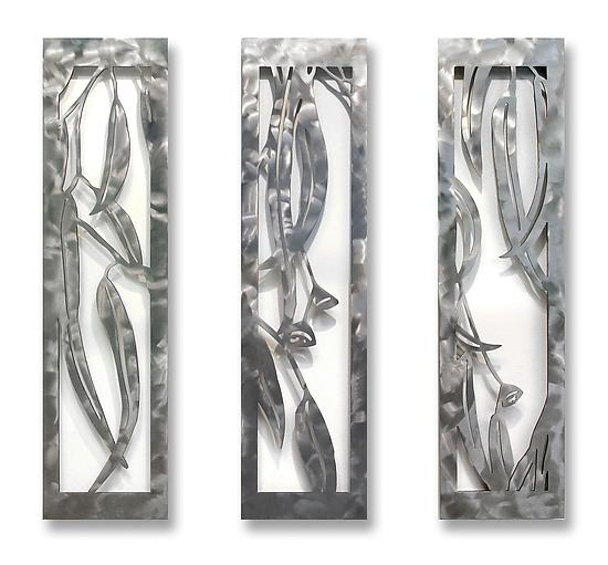 Eucalyptus Lyrics - Metal Wall Art - by Marsh Scott