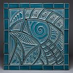Ceramic Wall Art by Lynne Meade