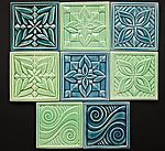 Ceramic Tile by Lynne Meade