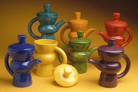 Coffee Pot - Ceramic Coffee Pot - by Abby Salsbury