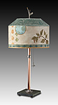 Mixed Media Table Lamp by Janna Ugone