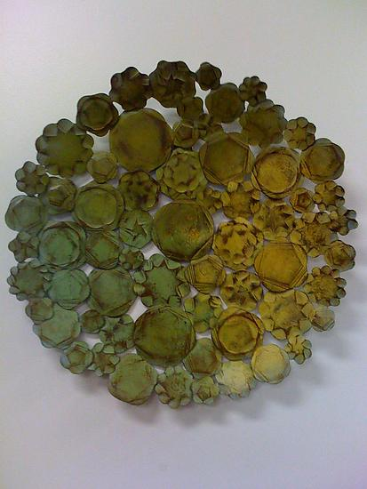 Garden Platter - Metal Wall Art - by Susan Madacsi
