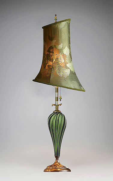 Isabella - Mixed-Media Table Lamp - by Caryn Kinzig and Susan Kinzig