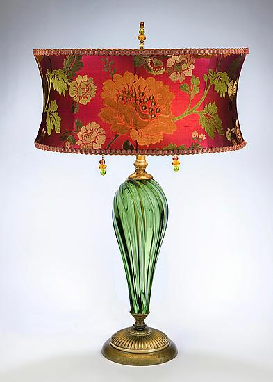 Margot - Mixed-Media Table Lamp - by Caryn Kinzig and Susan Kinzig