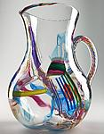Art Glass Pitcher by Justin Tarducci