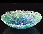 Art Glass Bowl by Justin Tarducci