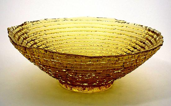 Epidavrous Bowl - Art Glass Bowl - by Jennifer Smith, John P. Gilvey, Michael Benzer and Wendy Gilvey