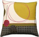 Fiber Pillow by Susan Hill