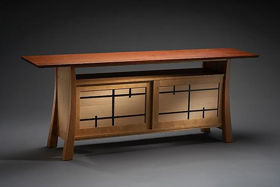 Folie - Wood Television Console - by Brian Hubel