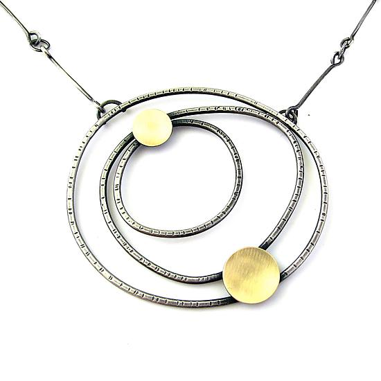 Constellation Necklace - Gold & Silver Necklace - by Lisa Crowder