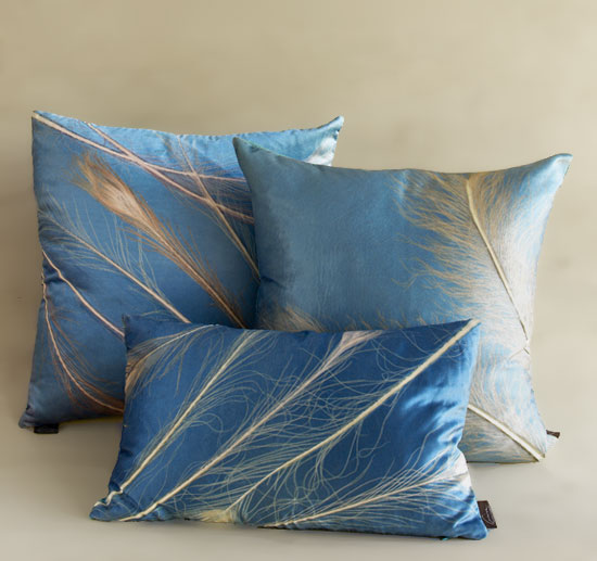 Calypso Collection - Etched Velvet Pillow - by Aviva Stanoff