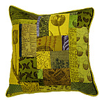 Silk Pillow by Laura Goldstein