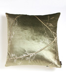 Etched Velvet Pillow by Aviva Stanoff