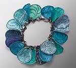 Silver & Paper Bracelet by Carol Windsor