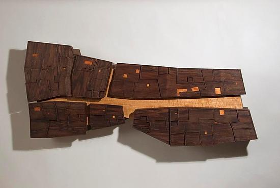 Timbuktu - Wood Wall Art - by Peter Loh