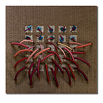 Fiber Wall Art by Laurie dill-Kocher