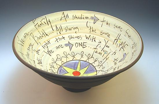 Family Bowl - Ceramic Bowl - by Eric Hendrick and Noelle Van Hendrick