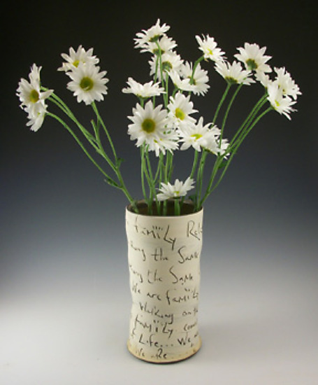 Family Vase - Ceramic Vase - by Eric Hendrick and Noelle Van Hendrick