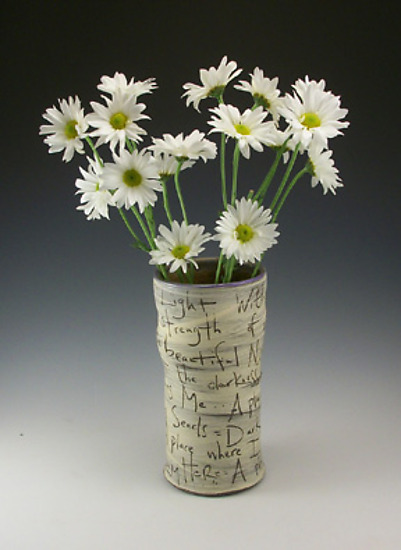 Light and Dark vase - Ceramic Vase - by Eric Hendrick and Noelle Van Hendrick