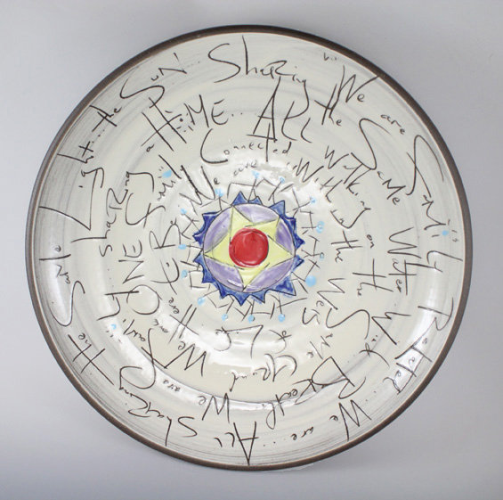 Family Platter - Ceramic Platter - by Eric Hendrick and Noelle Van Hendrick