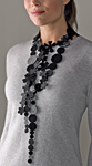 Felt Necklace by Danielle Gori-Montanelli