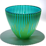 Art Glass Vessel by Christopher Jeffries