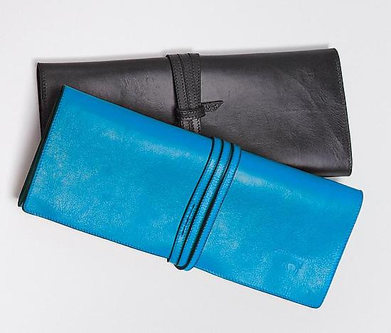 Sasha Clutch - Leather Clutch - by Jutta Neumann