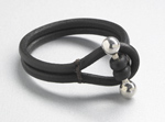 Leather Bracelet by Jutta Neumann