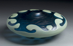 Art Glass Vessel by Michael Ulschak